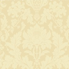Vintage Yellow Print Wallcovering by Cole & Son
