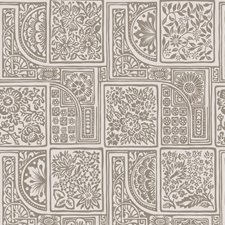 Stone/Gilver Print Wallcovering by Cole & Son